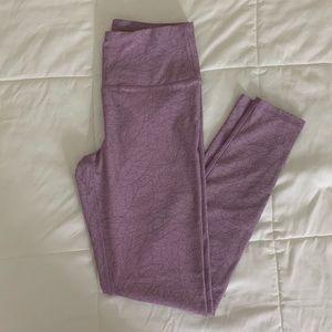 Kyodan lavender athletic workout leggings